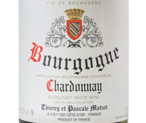 2014 Domaine Matrot Bourgogne Blanc