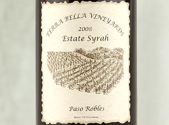 2008 Terra Bella Estate Syrah