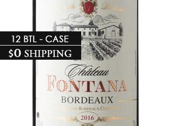 2017 Chateau Fontana Case