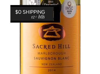 2014 Sacred Hill Sauvignon Blanc