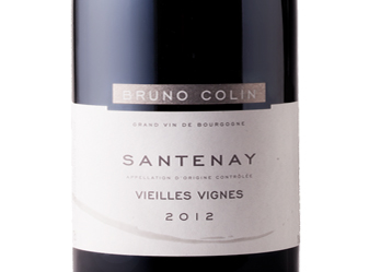 2012 Bruno Colin Santenay Red