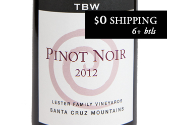 2012 Tom Brooks Pinot Noir