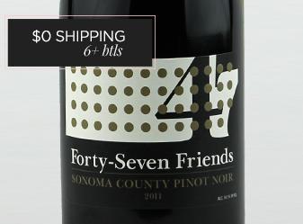 2011 Forty Seven Friends Pinot Noir