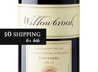 2015 Willowbrook Zinfandel