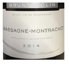 2011 Domaine Bruno Colin Les Vergers