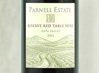 2011 Parnell Estate Reserve Red