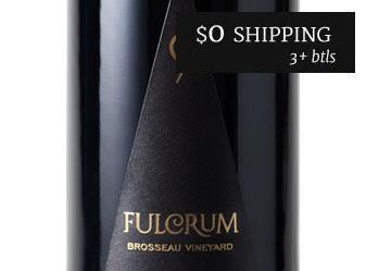 2014 Fulcrum Brosseau Vyd Pinot Noir