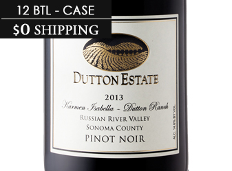 2013 Dutton Estate Pinot Noir CASE