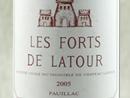 2005 Les Forts de la Tour, Pauillac