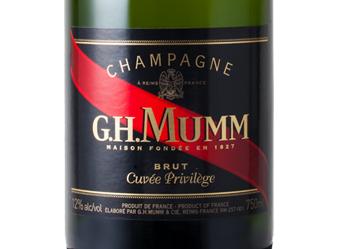 GH MUMM Cuvée Privilege Brut