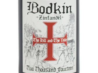 2014 Bodkin Zinfandel Hill and Vale