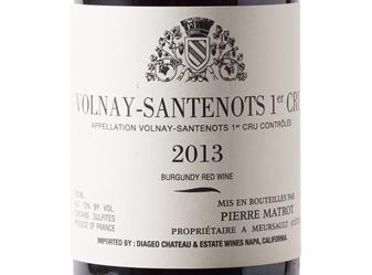 2013 P. Matrot Volnay-Santenots