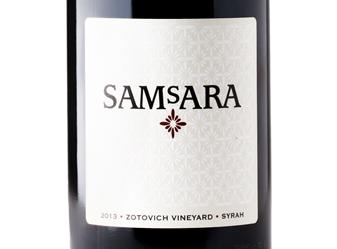 2013 SAMsARA Zotovich Vineyard Syrah