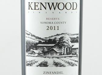 2011 Kenwood Zinfandel Reserve