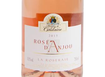 2015 Marquis de Goulaine Rosé D'Anjou