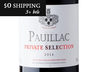 2014 Private Selection Pauillac