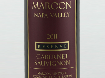 2011 Maroon Reserve Cabernet Sauv