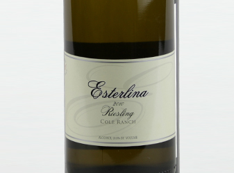 2010 Esterlina Riesling