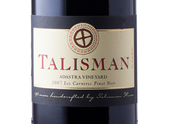 2007 Talisman Adastra Vnyd Pinot Noir