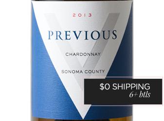 2013 Previous Chardonnay