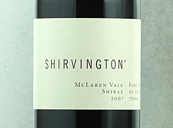 2007 Shirvington Shiraz