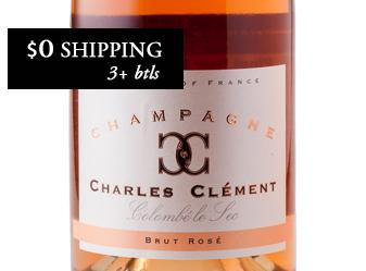 Charles Clément NV Brut Rosé