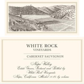 2014 White Rock Vineyards Cab Sauv