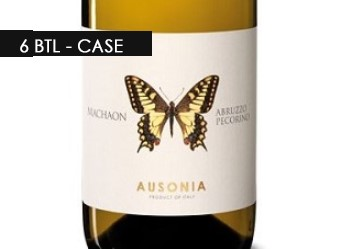 2016 Ausonia 'Machaon' Pecorino 6btl