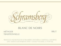 2014 Schramsberg Blanc de Noirs