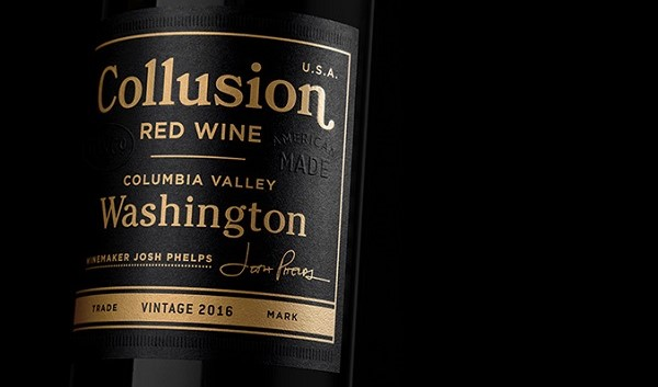 2016 Collusion by Grounded Wine Co.