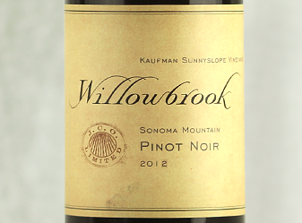 2012 Willowbrook Pinot Noir