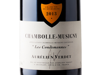 2013 Verdet Chambolle-Musigny Rouge