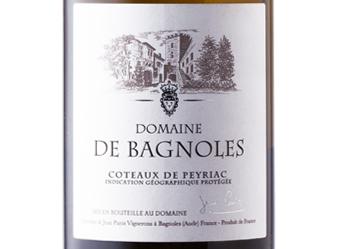 2014 Domaine de Bagnoles Blanc