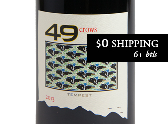 2013 49 Crows 'Tempest' Red