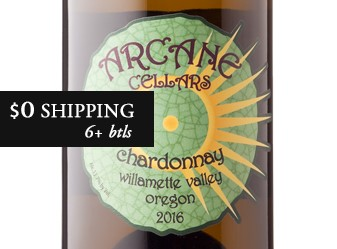 2016 Arcane Estate-Grown Chardonnay