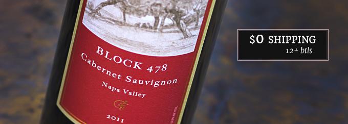 2011 Block 478 Cabernet Sauvignon