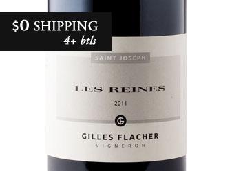 2011 Gilles Flacher Les Reines Rouge