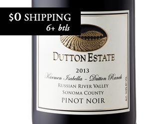 2013 Dutton Estate Pinot Noir