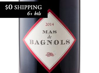2014 Mas de Bagnols Rouge