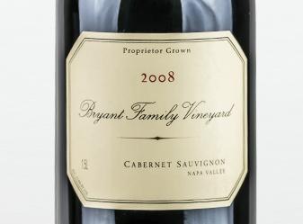 2008 Bryant Cabernet Sauvignon Magnum