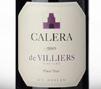2013 Calera Pinot Noir de Villiers