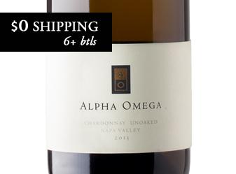 2013 Alpha Omega Chardonnay Unoaked