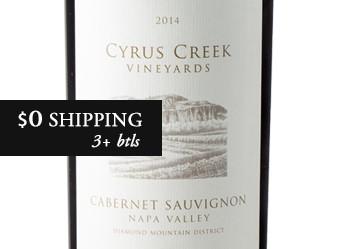 2014 Cyrus Creek Cabernet Sauvignon