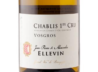 2015 Domaine Ellevin Chablis Vosgros