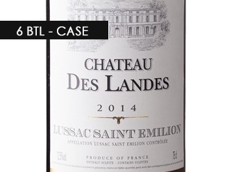 2014 Château des Landes ½ Case
