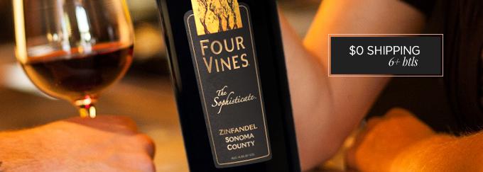 2012 Four Vines The Sophisticate Zin