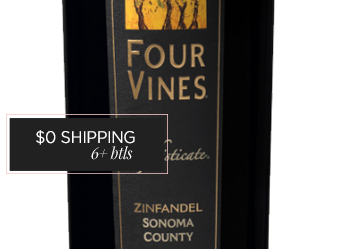 2012 Four Vines The Sophistocate Zin