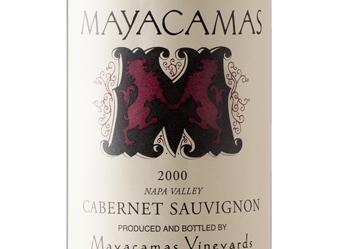 2000 Mayacamas Cabernet Sauvignon