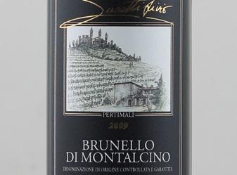 2009 Pertimali Brunello di Montaclino
