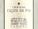 2010 Château Croze de Pys Cahors